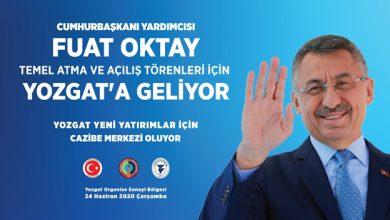 Photo of Açılışlar için Yozgat'a geliyor