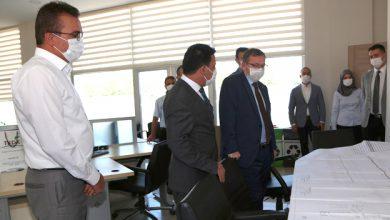 Photo of Vali Polat TKDK'ı ziyaret etti, bilgi aldı