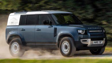 Photo of Land Rover Defender Hard Top ticari versiyonu satışa sunuldu