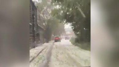 Photo of İngiltere'ye Eylül ayında kar yağdı
